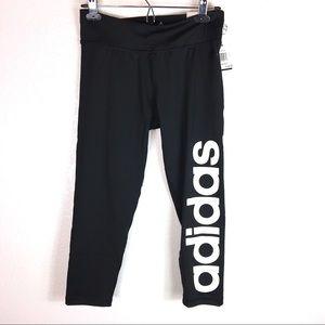 Adidas 3/4 Capri Leggings crop pants workout tight